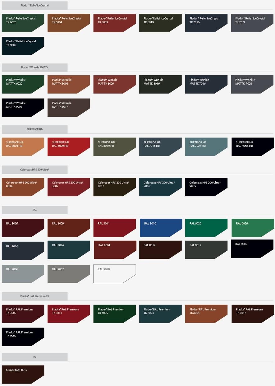 povrchove upravy striech farby striech strešné krytiny farby