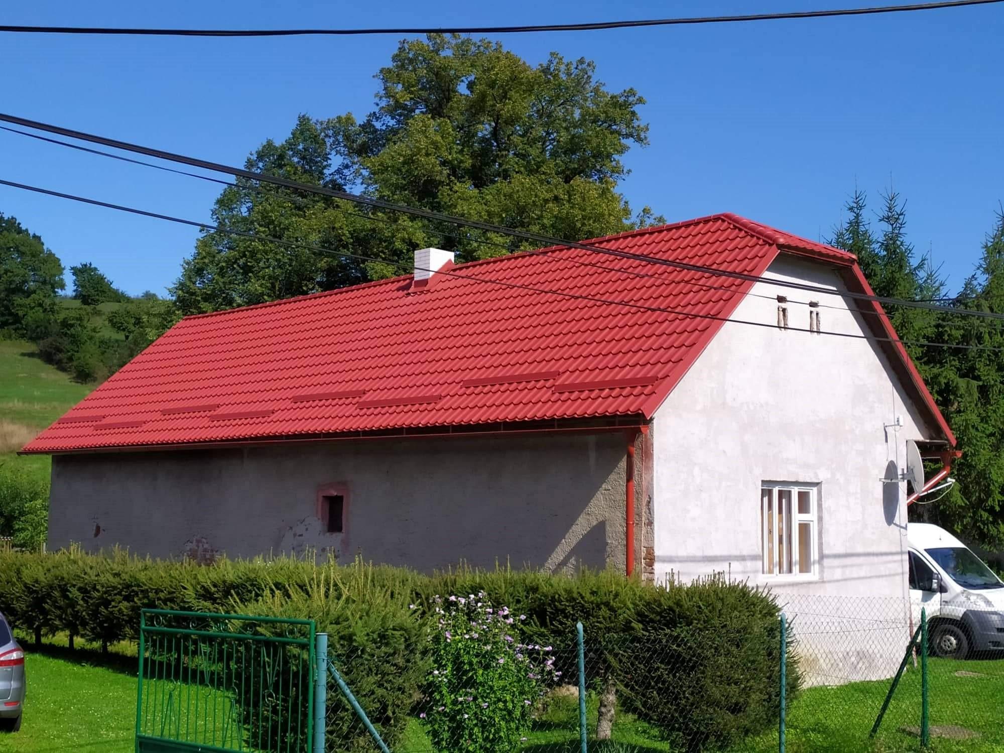 polvalbová strecha